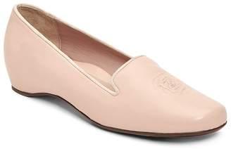 Taryn Rose Women's Belissa Leather Hidden Wedge Loafers
