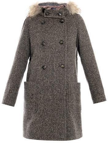 Max Mara Weekend by Etna double-breasted tweed coat