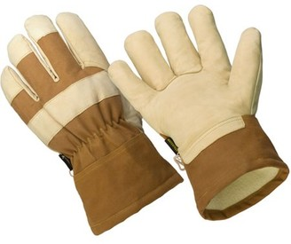 Hands On LP2210-XL, The Badger, 3M Thinsulate Lined Premium Goat Grain Leather Palm Glove, 100% Waterproof