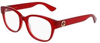 Gucci Eyeglasses GG 0040 O- 004 RED /