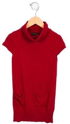 Elsy Girls' Angora-Blend Sweater Dress