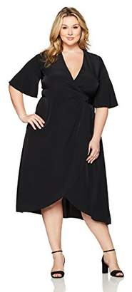 Melissa McCarthy Women's Plus Size Wrap Dress