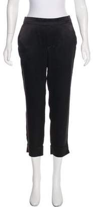 Marc by Marc Jacobs Silk Mid-Rise Pants