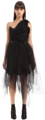 Vivienne Westwood One Shoulder Tulle Dress