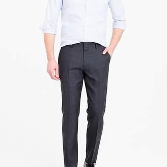 J.Crew Ludlow Slim-fit suit pant in charcoal American Wool