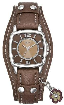 S'Oliver Girls' Analogue Quartz Watch with Leather Strap – SO-1943-LQ