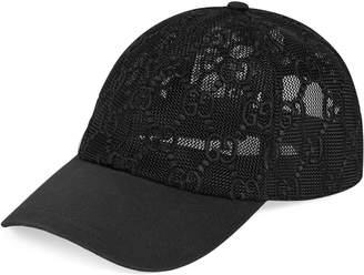 Gucci GG embroidered baseball hat