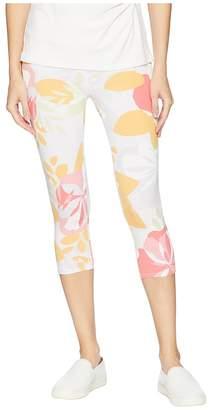 Fresh Produce Fresh Blossom Oceanside Capri Leggings Women's Casual Pants