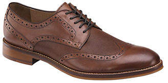 Johnston & Murphy Conard Embossed Wingtip Oxfords