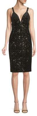 Jill Stuart Sequined Sheath Dress