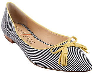 As Is Sole Society Suede Flats with Tassels - Ruthie $24.95 thestylecure.com