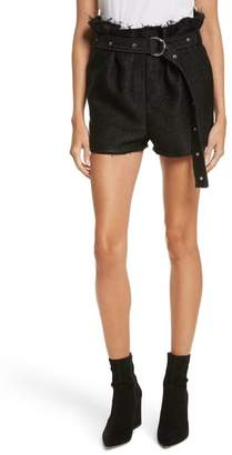 IRO Chopan Belted Paper Bag Shorts