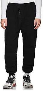 Katharine Hamnett Men's Cotton Drop-Rise Flight Trousers - Black