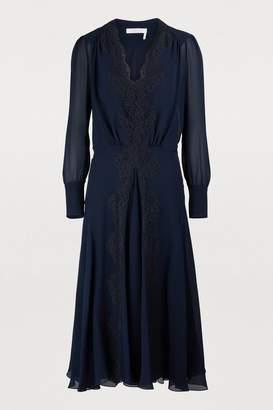 Chloé Silk maxi dress