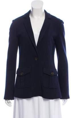 Tory Burch Wool Long Sleeve Blazer