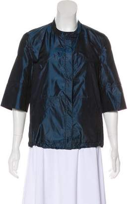 Akris Lightweight Button-Up Jacket