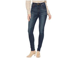 Rock and Roll Cowgirl High-Rise Skinny in Dark Vintage WHS7662