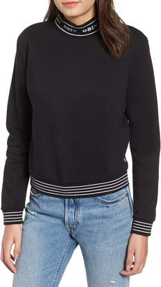 Obey Quincy Cotton Blend Sweatshirt