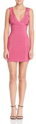 GUESS Mirage Strappy Body-Con Mini Dress