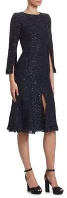 Oscar de la Renta Sparkle Cocktail Dress