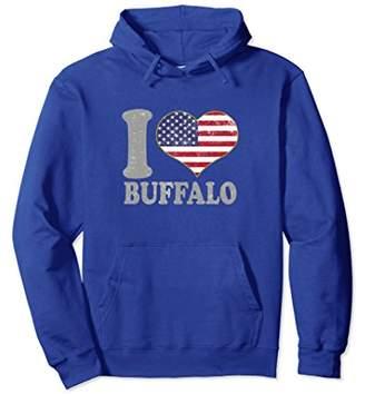 Buffalo David Bitton New York Hooded Sweatshirt Clothing Pride Lake Erie