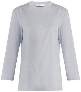 The Row Mave Cotton Jersey T Shirt - Womens - Light Blue