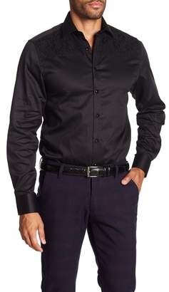 TR Premium Solid Slim Fit Dress Shirt