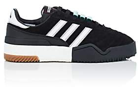 adidas by Alexander Wang Women's BBall Soccer Suede Sneakers - Black