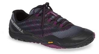 Merrell Trail Glove 4 Shield Water Resistant Running Shoe
