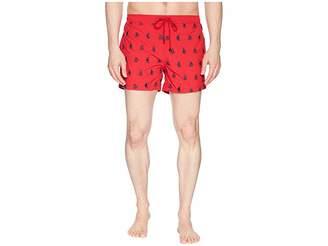 HUGO BOSS White Shark Swim Trunk Men's Swimwear