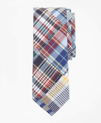Brooks Brothers Patchwork Madras Tie