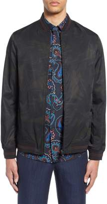 Ted Baker Sway Print Bomber Jacket