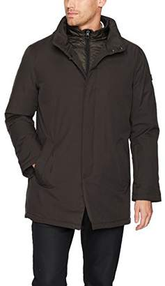 Tumi Men's Water Repellent Commuter Jacket with Removable Vest