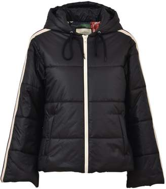 Gucci Black Short Nylon Jacket