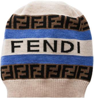 Fendi Logo Beanie