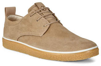 Ecco Crepetray Leather Derby Sneakers