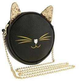 Capelli New York Girl's Round Cat Crossbody Bag