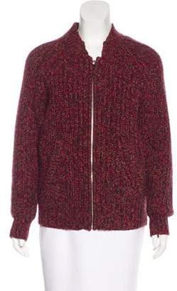 IRO Wool Zip-Up Cardigan