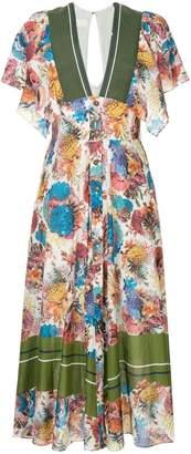 Ginger & Smart Submerge floral print dress