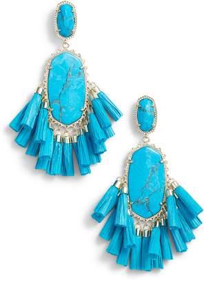 Kendra Scott Cristina Stone Tassel Earrings