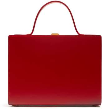 Mark Cross Overnight Case Leather Box Bag - Womens - Red