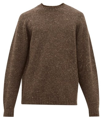 The Row Ezra Camel Blend Sweater - Mens - Brown