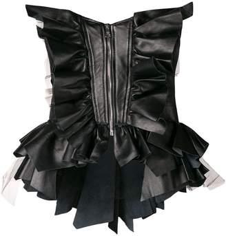 Natasha Zinko ruffled corset