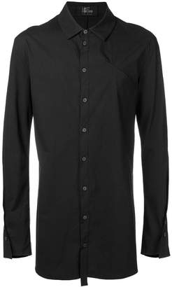 Lost & Found Rooms piping detail long shirt