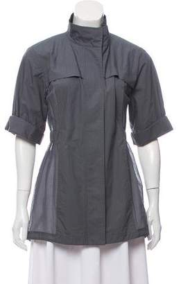 Rebecca Minkoff Short Sleeve Zip-Up Jacket