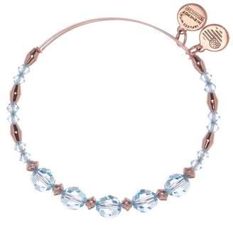 Alex and Ani Color Palette Adorned Swarovski Crystal Beaded Expandable Wire Bracelet