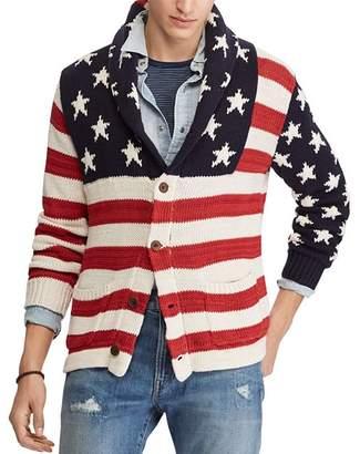 Polo Ralph Lauren Flag Cardigan