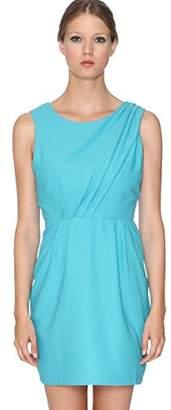 PepaLoves Women's A-Line Sleeveless Party Dress - Blue - 10