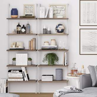 STUDY Nathan James Theo Ladder Bookcase