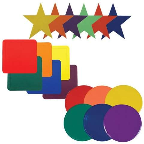 Champion Sports Colors and Shapes Activity Mats